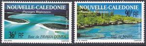 NEW CALEDONIA 1991 Sea views set MNH........................................4857