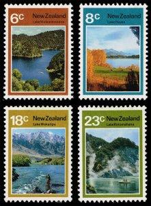 New Zealand #507-510 Lakes Set of 4; Unused (2Stars)