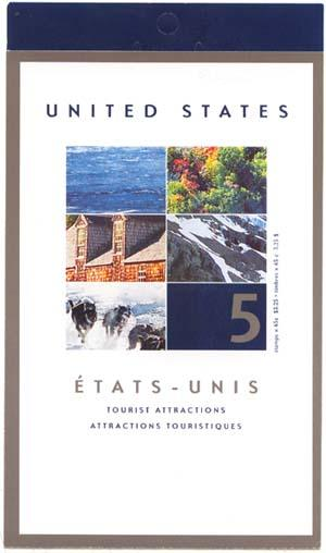 Canada - 2002 Tourist Attractions Booklet #BK259b