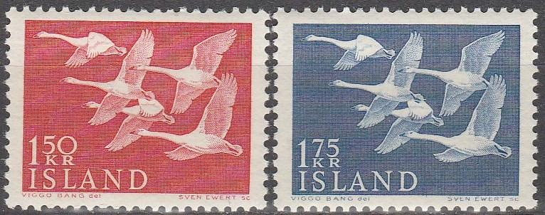 Iceland #298-9 MNH CV $11.20 (A13897)