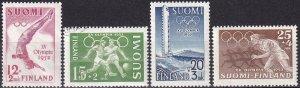 Finland #B110-13  F-VF Unused CV $9.45  (Z2965)