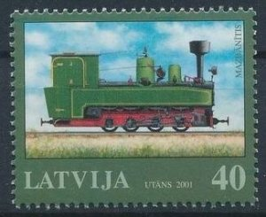 Latvia 2001 #527 MNH. Train
