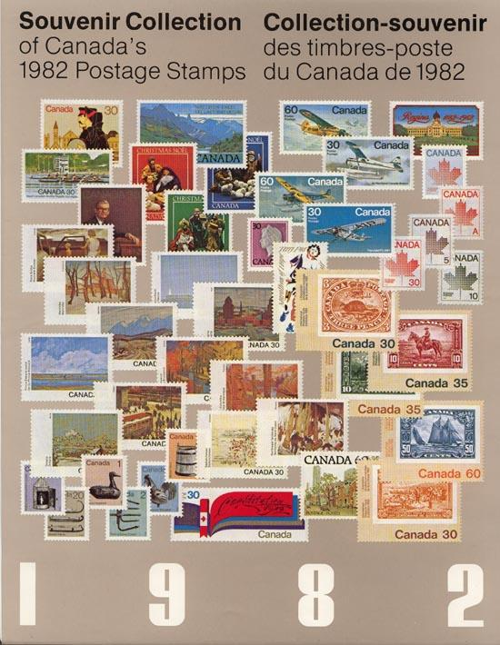 Annual Souvenir Collection Postage Stamps of Canada 1982 USC #AC25 Cat. $45. NH