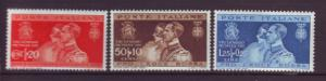 J20317 jlstamps 1930 set italy mh #239-41 royality