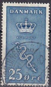 Denmark #B5  F-VF Used CV $40.00 (Z6301)