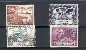 Pitcairn Islands, 13-16, UPU Issue Singles, **MNH**
