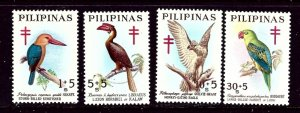 Philippines B32-35 MNH 1967 Birds    (ap4038)