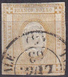 Italy #P1  F-VF Used  Signed CV $110.00 (Z7935)