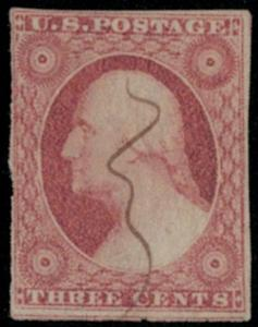 US #11 VF, bold color and fresh cancel Super nice!