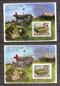 Comoro Islands - 2008 - Sheets (Red Cross) - MNH - LA103