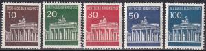 Germany #952-6 MNH   CV $12.15  Z704