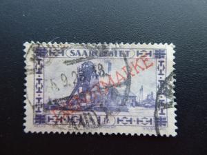 Germany  Saargebiet 1927  Sc.# o25