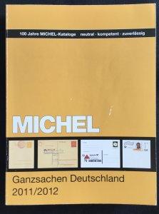 Michel Ganzsachen-Deutschland 2011/2012 In German LPB
