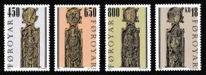 Faroe Is. Pew Gables St Olav's Church 4v SG#400-403 SC#389-392
