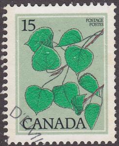 Canada 717 USED 1977 Trembling Aspen 15¢