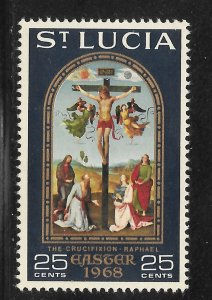 St Lucia Mint Never Hinged [9146]