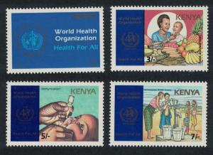 Kenya 40th Anniversary of WHO 4v SG#463-466