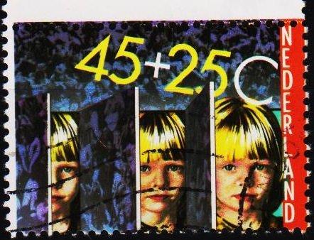 Netherlands. 1981 45c+25c S.G.1369 Fine Used