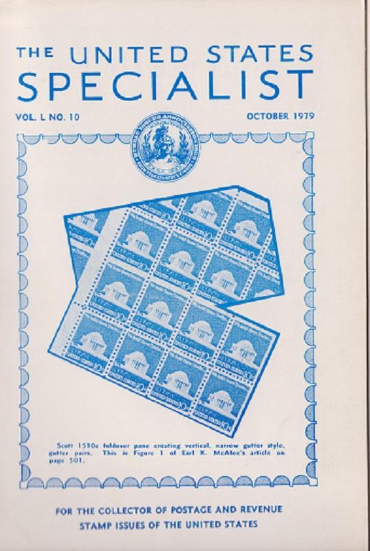 The United States Specialist:  Volume 50, No. 10 - October 1979