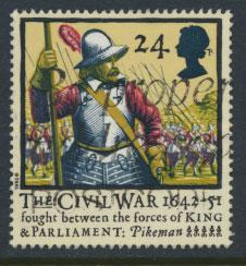 Great Britain SG 1620   Used  - Civel War
