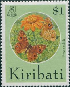 Kiribati 1994 SG457 $1 Butterflies and Moths FU