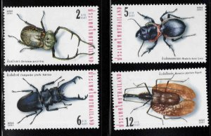 Thailand  Scott 1981-1984 MNH** Big Bug stamp set