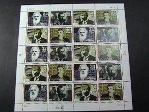 U.S.# 3061-3064(3064a)-MINT/NH--PANE OF 20--PIONEERS OF COMMUNICATIONS--1991