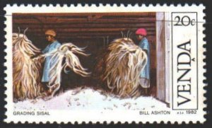 Venda. 1982. 56 from the series. Harvesting, agriculture. MVLH.
