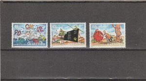 Netherlands Antilles  Scott#  B285-7  MNH  (1991 Youth Care Campaign)