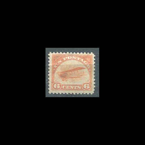 #C1 US AIRMAIL 6¢ Jenny Mint Never Hinged - Fine CV $120.00    (6r)