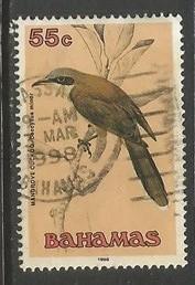 BAHAMAS 718 VFU BIRD Z4-131-4