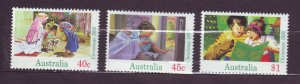 J23791 JLstamps 1992 australia set mnh #1303-5 christmas