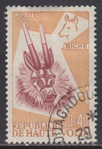 Burkina Faso 85 Deer Mask 1960