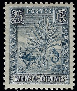 Malagasy/Madagascar Exceptional VF+ Sc #70 Mint..Fill an important spot!
