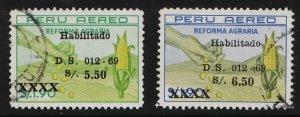 Peru 1969 AIR / Agrarian Reform Law (2/2) USED