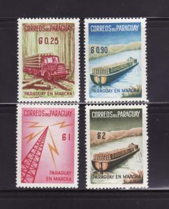 Paraguay 577-580 MHR Various