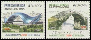 2018 Georgia 711-712 Europe CEPT / Bridges