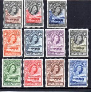 Bechuanaland 154-164 MH