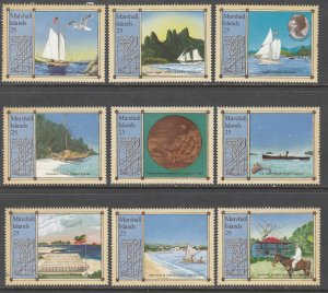 Marshall Islands 190a-190i Singles MNH VF