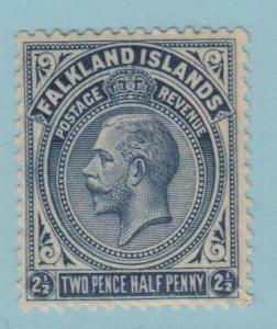 FALKLAND ISLANDS 44 MINT HINGED OG *  NO FAULTS EXTRA FINE !