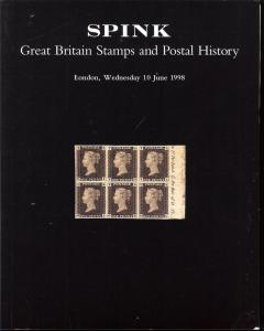Great Britain Stamps and Postal History, Spink London 1178