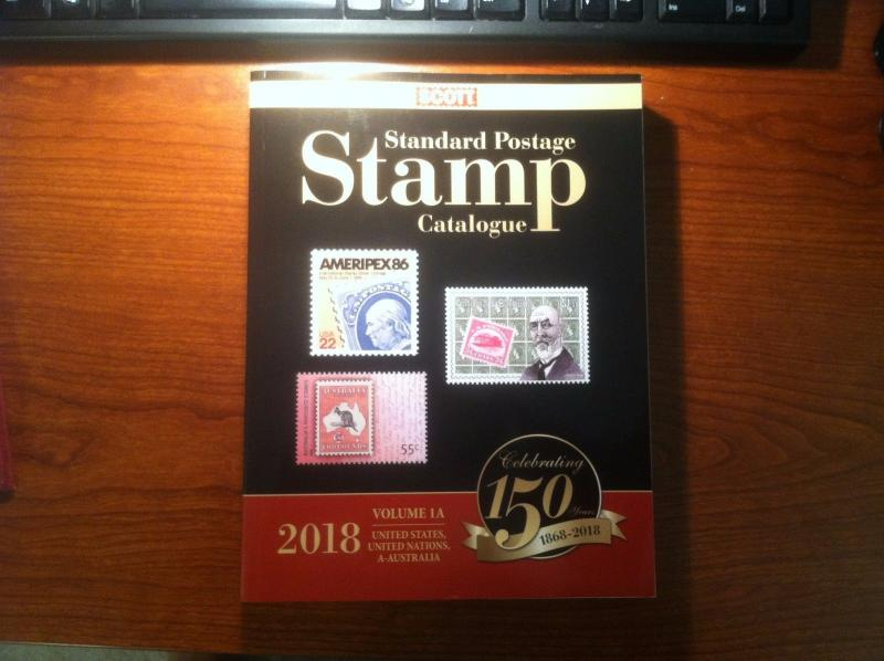 Scott Stamp Catalog 2018 Volume 1A & 1B - US, UN & Countries A-B