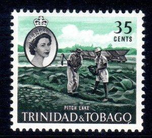 TRINIDAD  AND TOBAGO  -- 1960-67   sg293   35 cents   MM