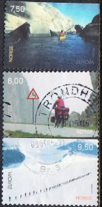 Norway #1395-1397 Used