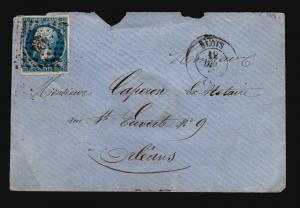 France 1861 Cover to Orleans / Light Creasing - Z15719