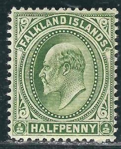Falkland Is 22 SG 43 MLH 1904 SCV $9.00