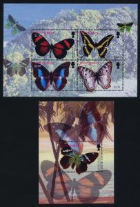 Montserrat 1097-8 MNH Butterflies