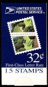 US #3088 BK253 MAKE-SHIFT BOOKLET, Iowa, VF/XF mint never hinged, Fresh, Toug...