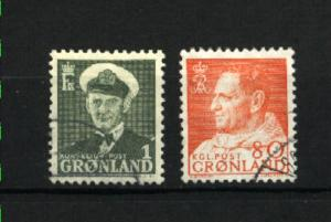 Greenland #28, 61 used  PD