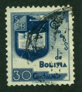 Bolivia 1939 #258 U SCV(2018)=$0.75